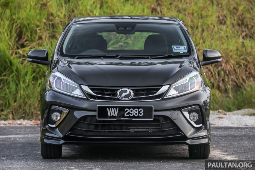 GALLERY: Perodua Myvi Advance 1.5 – 2018 vs 2015 Image #741492