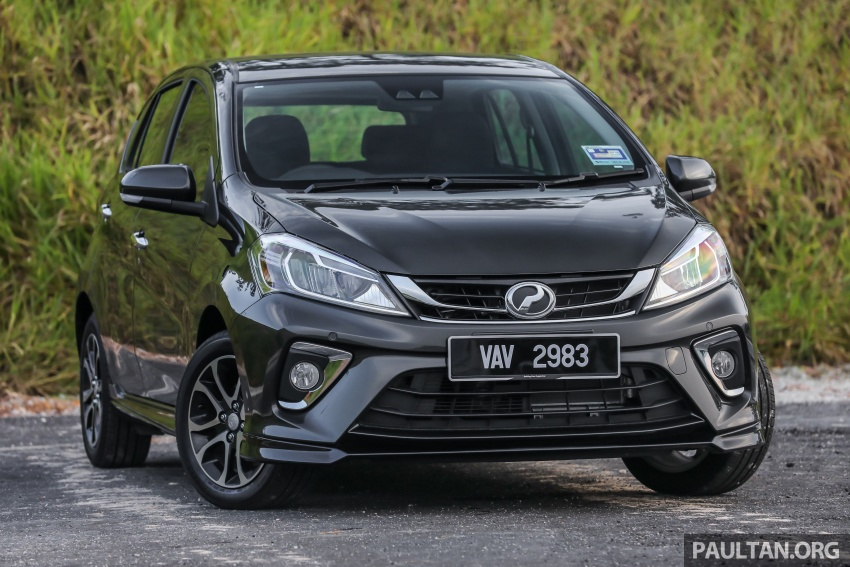 GALLERY: Perodua Myvi Advance 1.5 – 2018 vs 2015 Image #741470