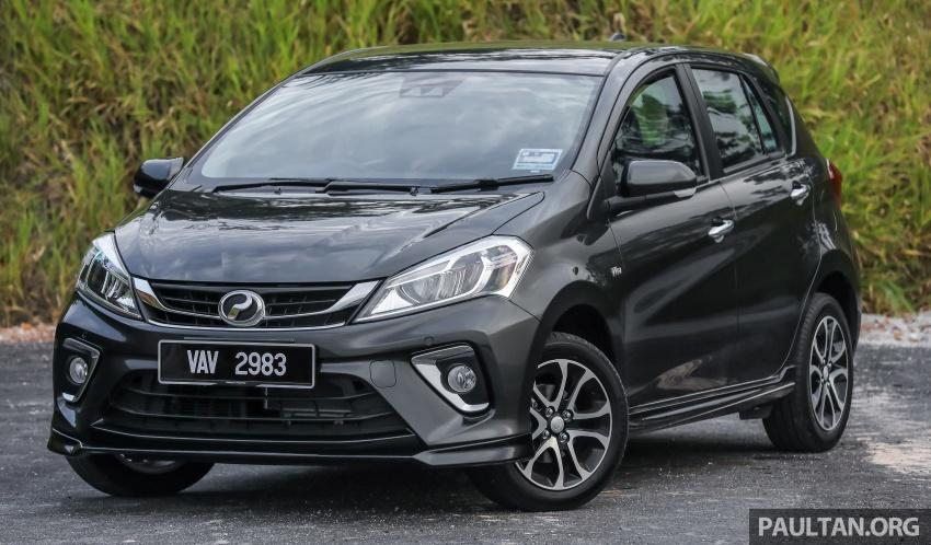 GALLERY: Perodua Myvi Advance 1.5 – 2018 vs 2015 Image #741472
