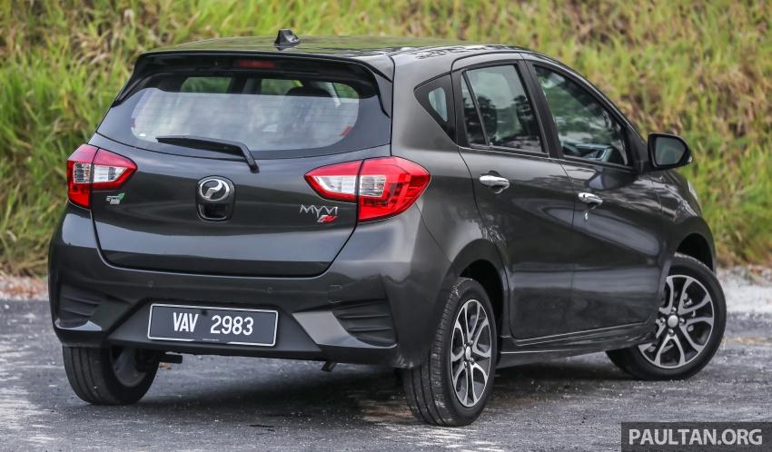 GALLERY: Perodua Myvi Advance 1.5 – 2018 vs 2015 Image #741478