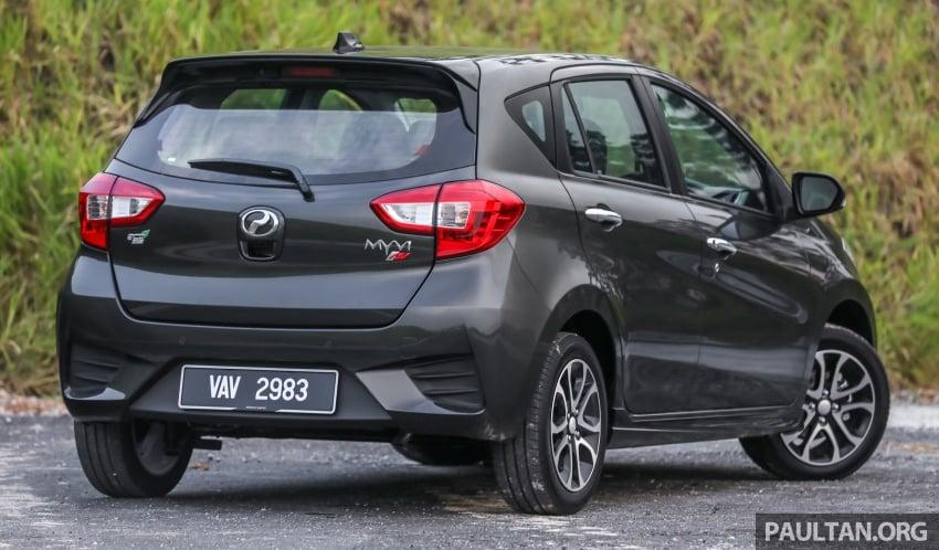 GALLERY: Perodua Myvi Advance 1.5 – 2018 vs 2015 Image #741480