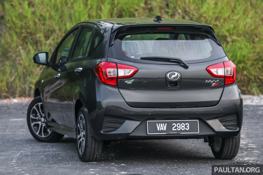 GALLERY: 2018 Perodua Myvi 1.3 Premium X vs 1.5 Advance – which new variant should you go for? Image #741471