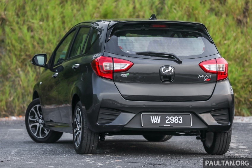 GALLERY: Perodua Myvi Advance 1.5 – 2018 vs 2015 Image #741484