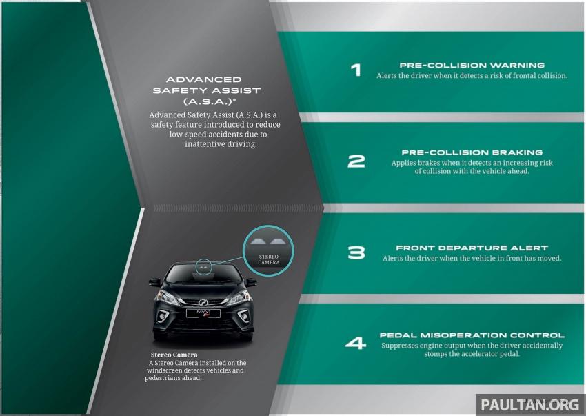 Perodua Myvi 2018 dilancarkan di Malaysia – model generasi baharu, 1.3L dan 1.5L, bermula RM44,300 Image #739055