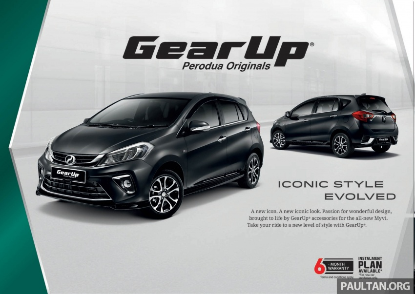 2018 Perodua Myvi officially launched in Malaysia – now with full details and pics, priced from RM44,300 Image #739031