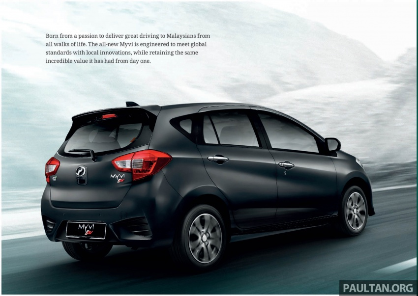 2018 Perodua Myvi officially launched in Malaysia – now with full details and pics, priced from RM44,300 Image #739006