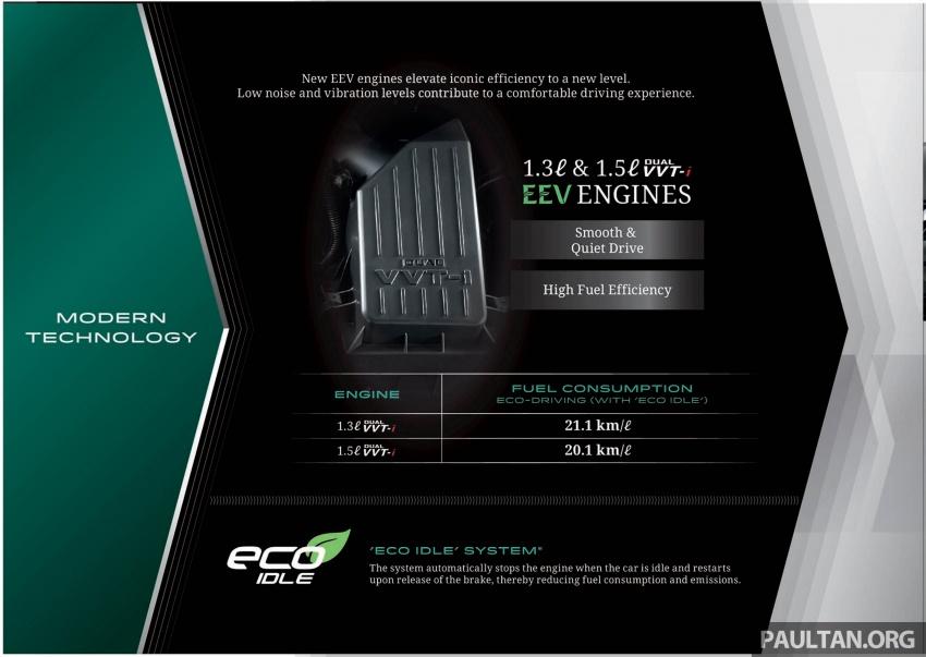 Perodua Myvi 2018 dilancarkan di Malaysia – model generasi baharu, 1.3L dan 1.5L, bermula RM44,300 Image #739042