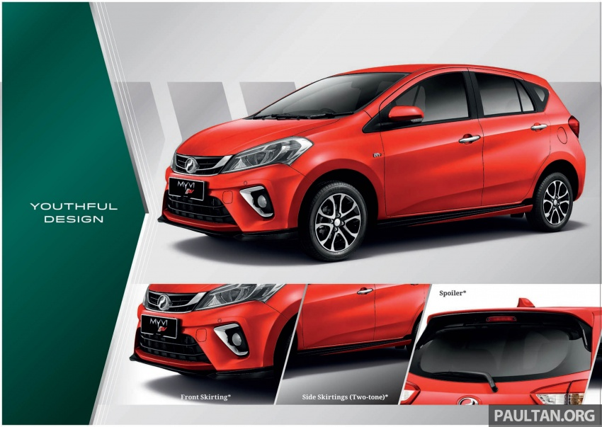2018 Perodua Myvi officially launched in Malaysia – now with full details and pics, priced from RM44,300 Image #739013
