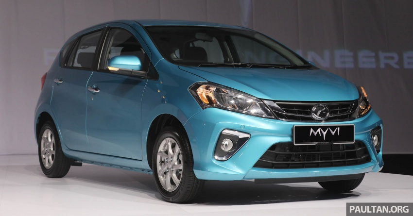 2018 Perodua Myvi officially launched in Malaysia – now with full details and pics, priced from RM44,300 Image #739207