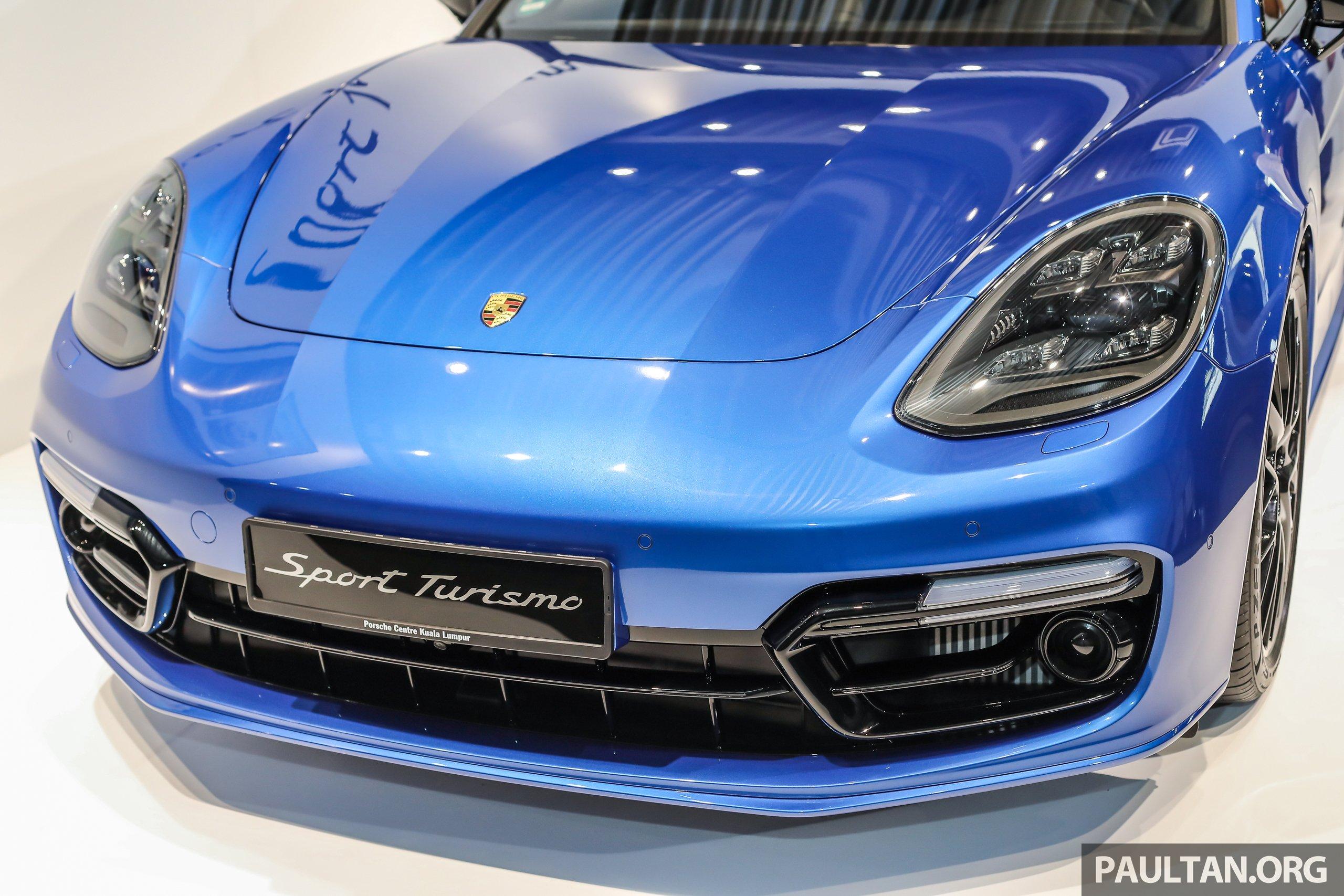 Porsche Panamera Sport Turismo Previewed In M Sia 4 4 E