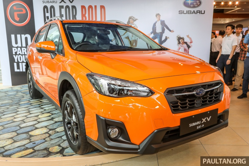 2018 Subaru XV launched in Malaysia – two variants, 2.0i and 2.0i-P, priced from RM119k to RM126k Image #745930