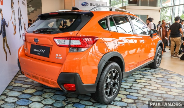 Plastic Wrap Car >> 2018 Subaru XV launched in Malaysia - two variants, 2.0i and 2.0i-P, priced from RM119k to RM126k