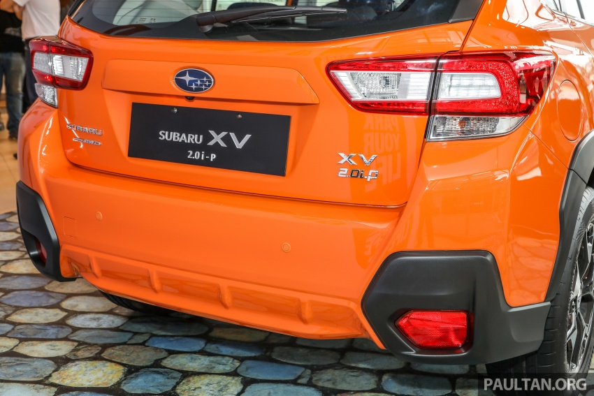 2018 Subaru XV launched in Malaysia – two variants, 2.0i and 2.0i-P, priced from RM119k to RM126k Image #745960