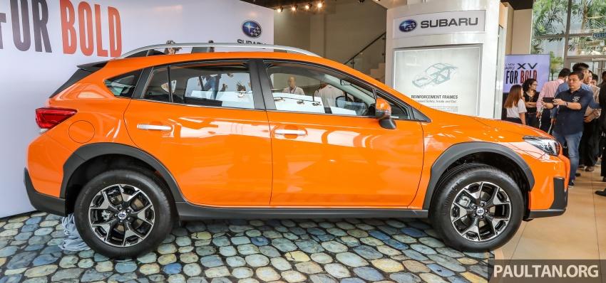 Subaru XV 2018 kini di Malaysia – bermula RM119k Image #745943