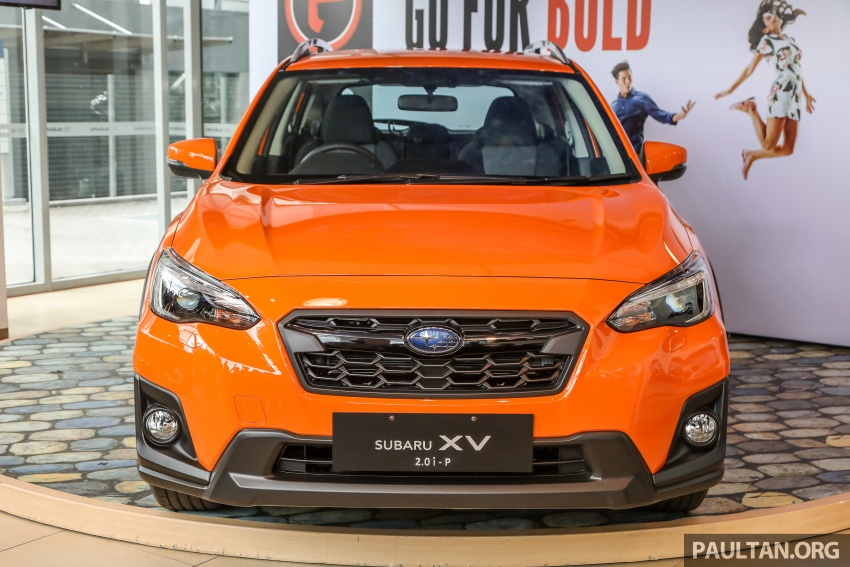 2018 Subaru XV launched in Malaysia – two variants, 2.0i and 2.0i-P, priced from RM119k to RM126k Image #745933