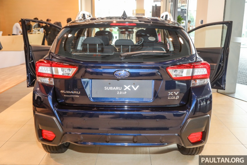 2018 Subaru XV launched in Malaysia – two variants, 2.0i and 2.0i-P, priced from RM119k to RM126k Image #745936