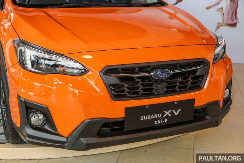 2018 Subaru XV launched in Malaysia – two variants, 2.0i and 2.0i-P, priced from RM119k to RM126k Image #745937
