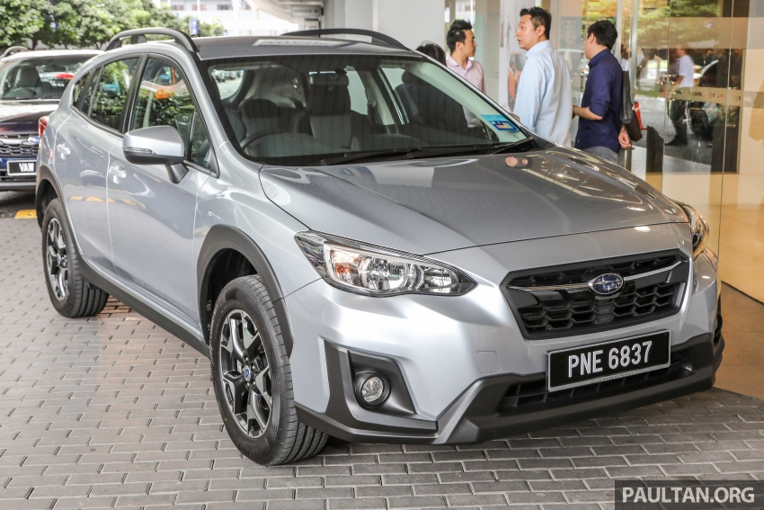 2018 Subaru XV launched in Malaysia – two variants, 2.0i and 2.0i-P, priced from RM119k to RM126k Image #745736