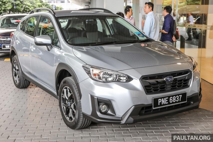 Subaru XV 2018 kini di Malaysia – bermula RM119k Image #745756