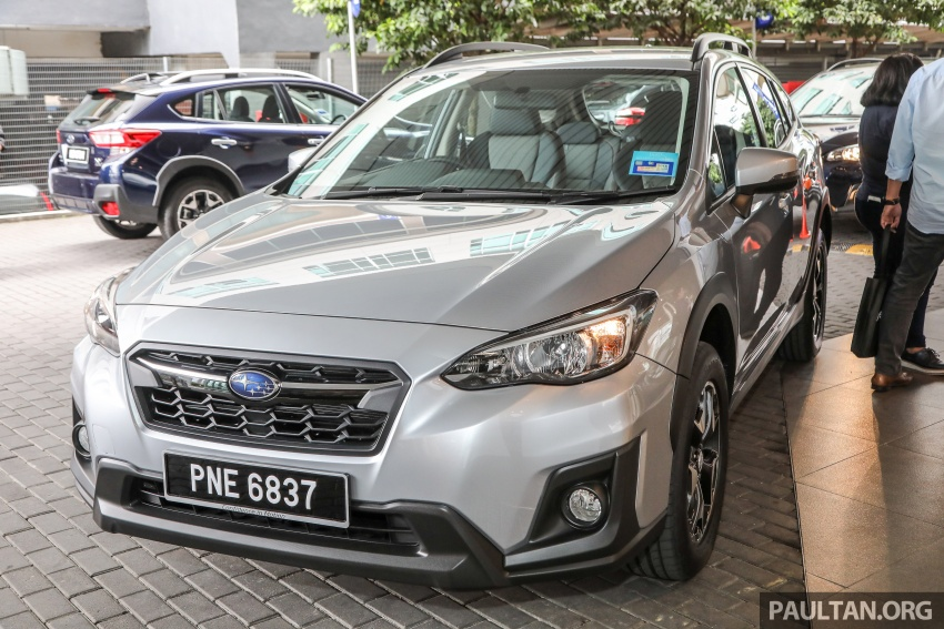 2018 Subaru XV launched in Malaysia – two variants, 2.0i and 2.0i-P, priced from RM119k to RM126k Image #745737