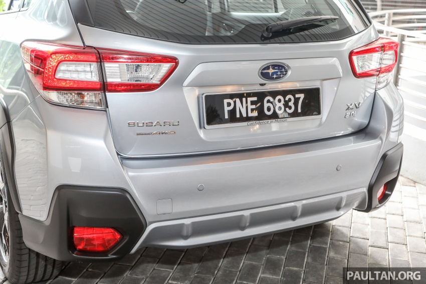 2018 Subaru XV launched in Malaysia – two variants, 2.0i and 2.0i-P, priced from RM119k to RM126k Image #745778