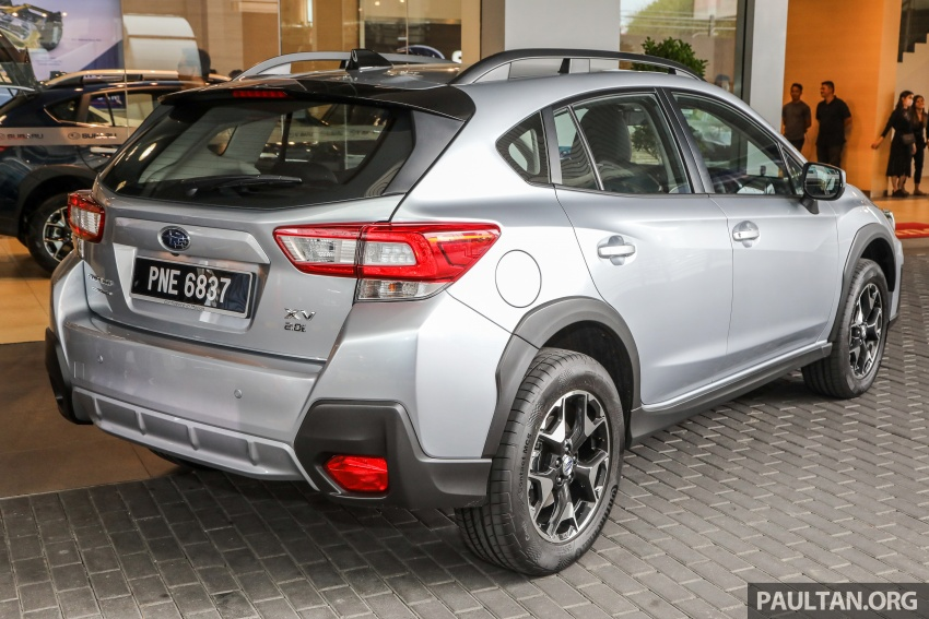 2018 Subaru XV launched in Malaysia – two variants, 2.0i and 2.0i-P, priced from RM119k to RM126k Image #745738