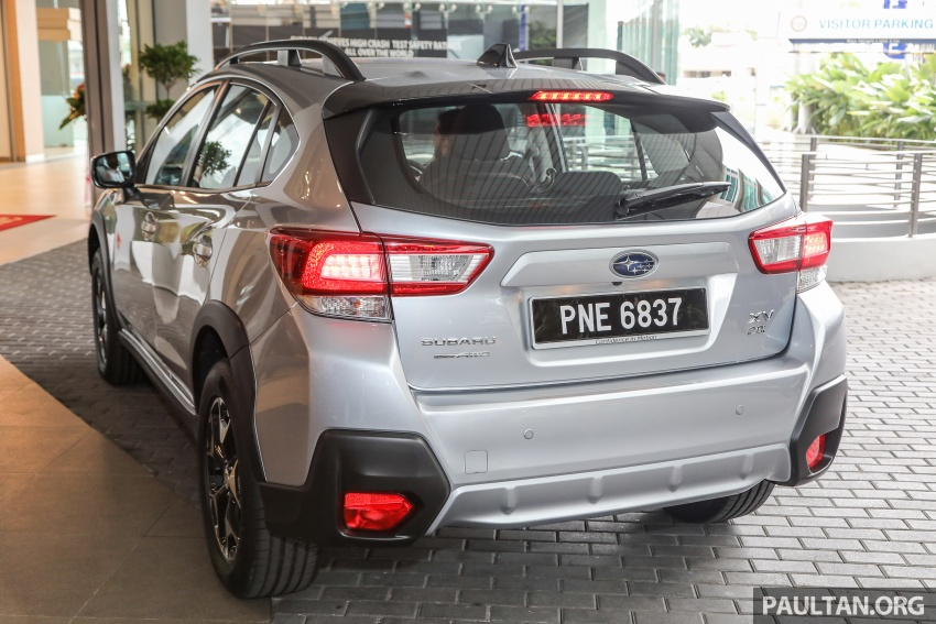 2018 Subaru XV launched in Malaysia – two variants, 2.0i and 2.0i-P, priced from RM119k to RM126k Image #745739
