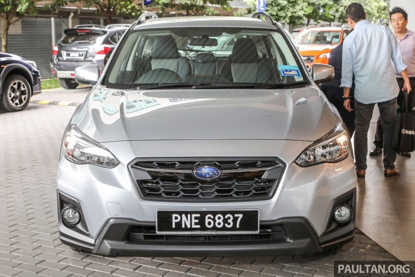 2018 Subaru XV launched in Malaysia – two variants, 2.0i and 2.0i-P, priced from RM119k to RM126k Image #745741