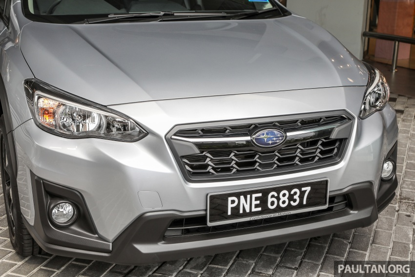 2018 Subaru XV launched in Malaysia – two variants, 2.0i and 2.0i-P, priced from RM119k to RM126k Image #745743