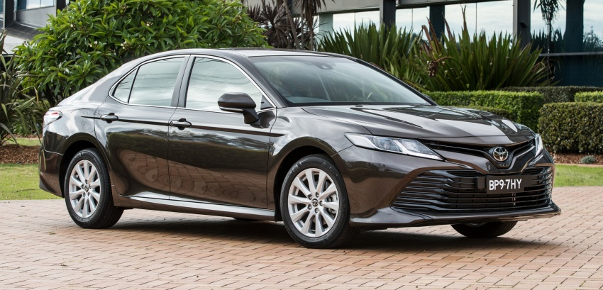 2018 Toyota Camry debuts in Australia – from RM86k Image #741162