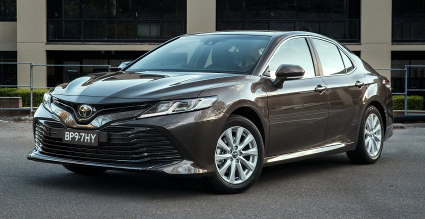 2018 Toyota Camry debuts in Australia – from RM86k Image #741164