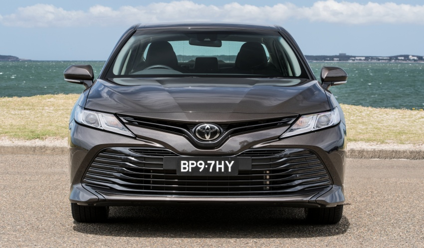 2018 Toyota Camry debuts in Australia – from RM86k Image #741166