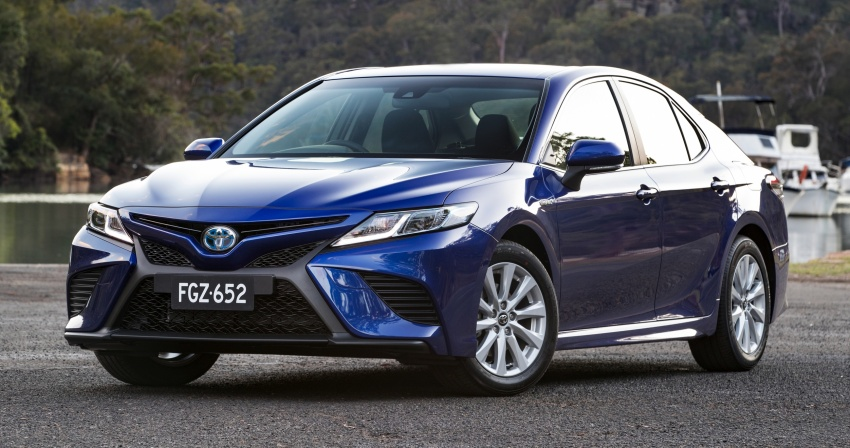 2018 Toyota Camry debuts in Australia – from RM86k Image #741176