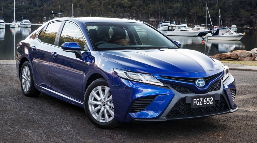 2018 Toyota Camry debuts in Australia – from RM86k Image #741177