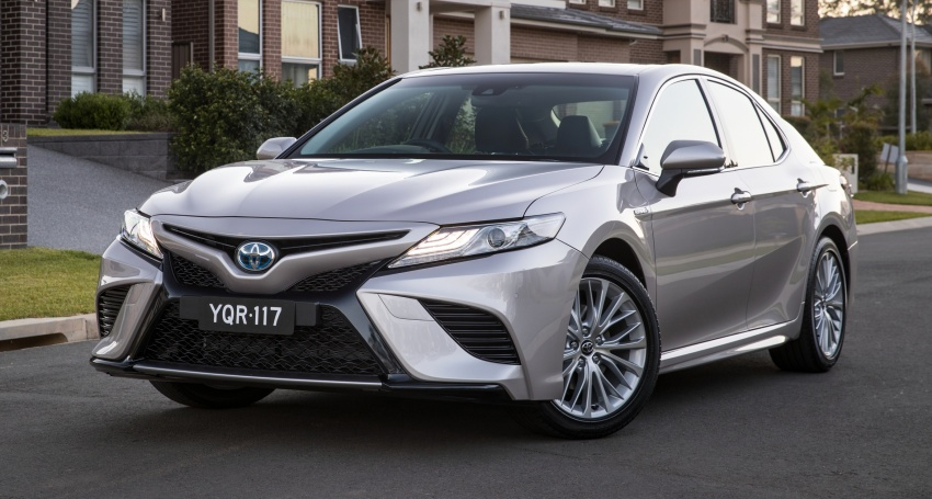 2018 Toyota Camry debuts in Australia – from RM86k Image #741206