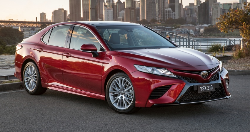 2018 Toyota Camry debuts in Australia – from RM86k Image #741220