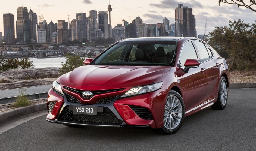 2018 Toyota Camry debuts in Australia – from RM86k Image #741222