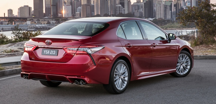 2018 Toyota Camry debuts in Australia – from RM86k Image #741223