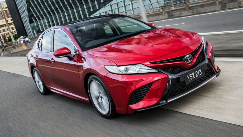 2018 Toyota Camry debuts in Australia – from RM86k Image #741225