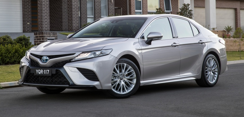 2018 Toyota Camry debuts in Australia – from RM86k Image #741208