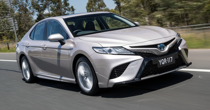 2018 Toyota Camry debuts in Australia – from RM86k Image #741212