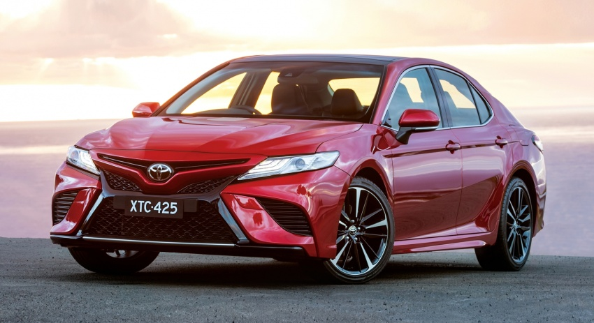 2018 Toyota Camry debuts in Australia – from RM86k Image #741187