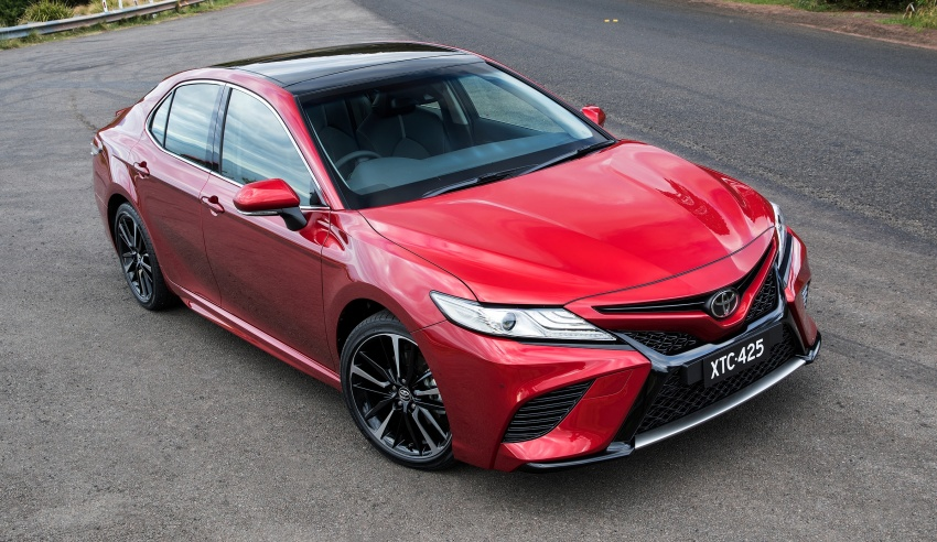 2018 Toyota Camry debuts in Australia – from RM86k Image #741196