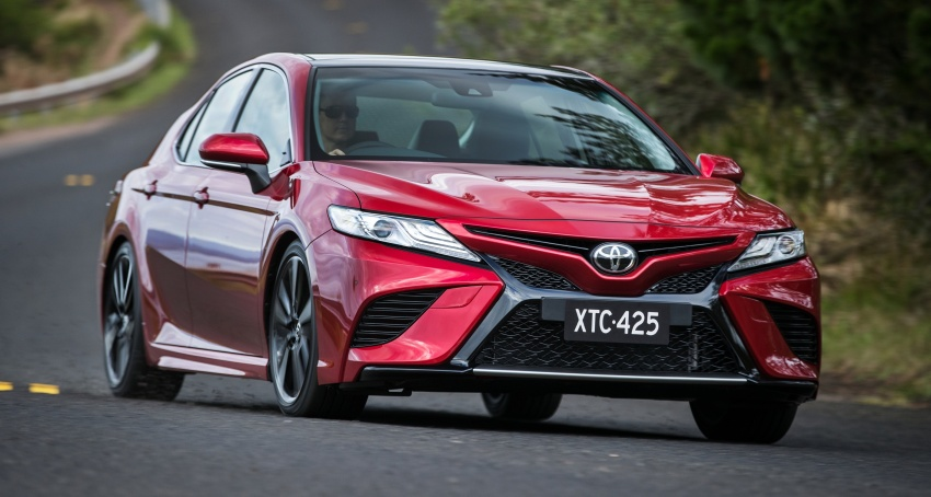 2018 Toyota Camry debuts in Australia – from RM86k Image #741198