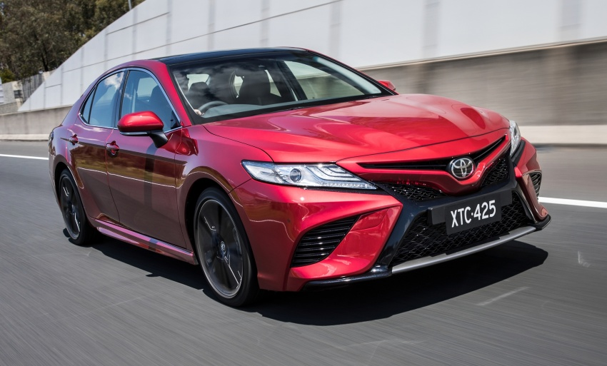 2018 Toyota Camry debuts in Australia – from RM86k Image #741199