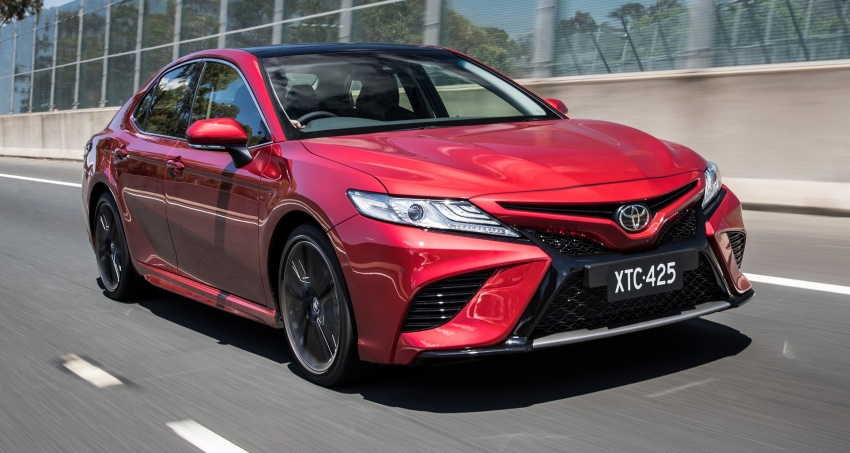 2018 Toyota Camry debuts in Australia – from RM86k Image #741200