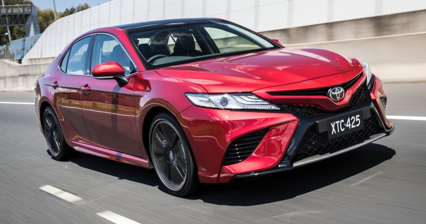 2018 Toyota Camry debuts in Australia – from RM86k Image #741201