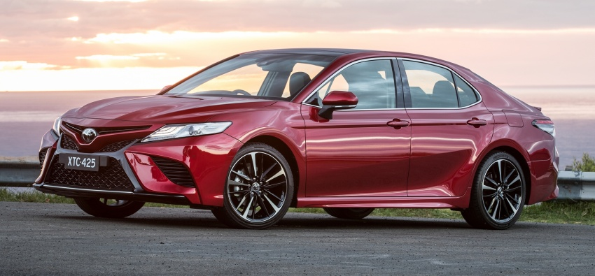 2018 Toyota Camry debuts in Australia – from RM86k Image #741188