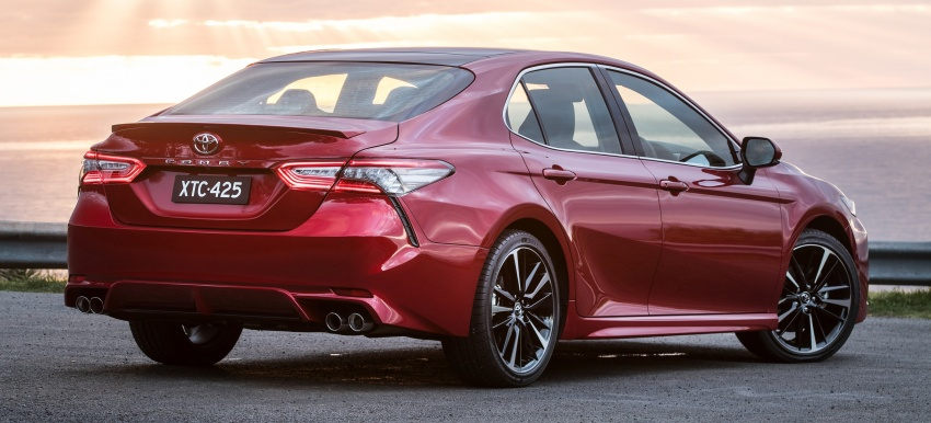 2018 Toyota Camry debuts in Australia – from RM86k Image #741189