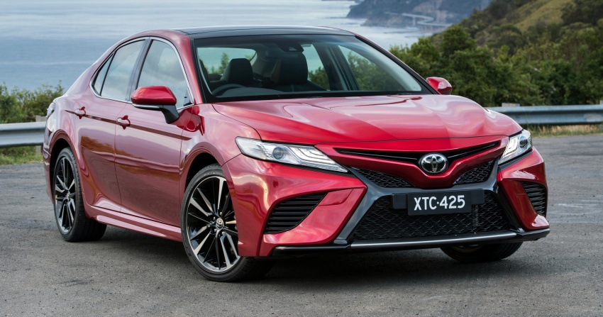 2018 Toyota Camry debuts in Australia – from RM86k Image #741191